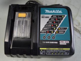マキタ リチウムイオンバッテリー用充電器 DC18RC