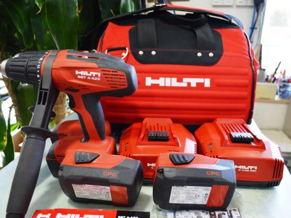 HILTI 充電式ドリルドライバー SBT 4-A22 (売済】